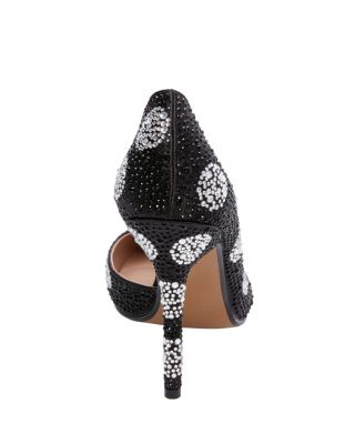 ELYZA BLACK/WHITE POLKA