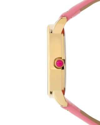 EMBROIDERED CACTUS WATCH PINK