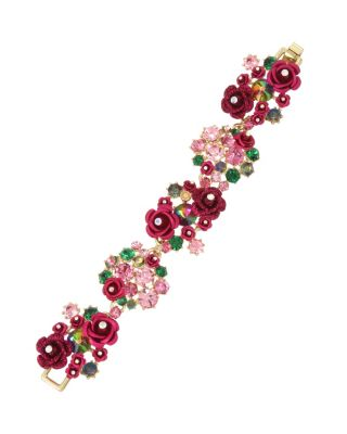Image of ENCHANTED ROSE FLEX BRACELET RED