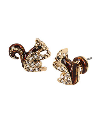 EXCLUSIVE SQUIRREL STUD EARRINGS