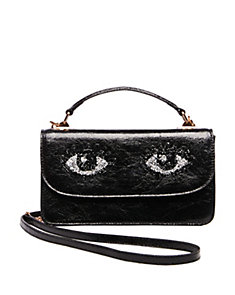 EYE-CATCHING TOP HANDLE CROSSBODY