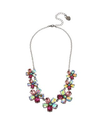 FAIRYTALE DREAMS FLOWER NECKLACE MULTI