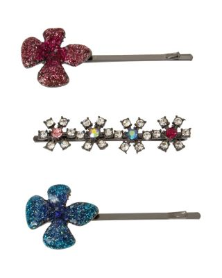FAIRYTALE DREAMS HAIR PIN SET MULTI