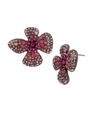 FAIRYTALE DREAMS PINK FLOWER STUDS PINK