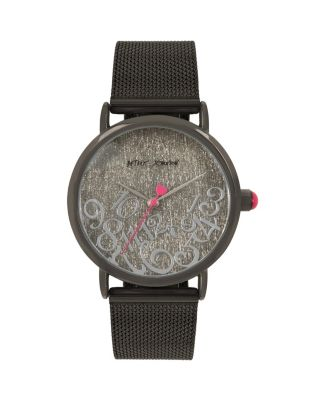 Image of FALLING FOR MESH BLACK WATCH BLACK