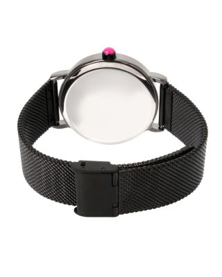 FALLING FOR MESH BLACK WATCH BLACK