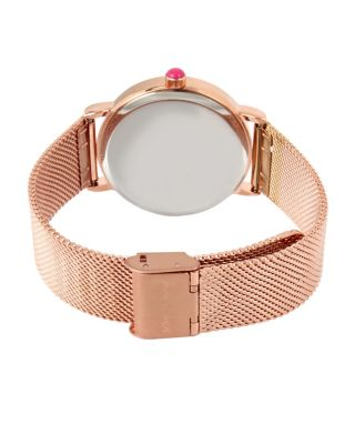 Image of FALLING FOR MESH ROSE GOLD WATCH ROSE GOLD
