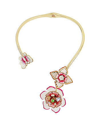 FLAT OUT FLORAL COLLAR