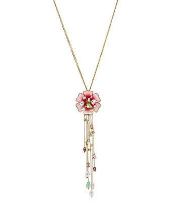 FLAT OUT FLORAL Y NECKLACE