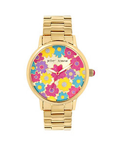 FLOWERTIME GOLD WATCH