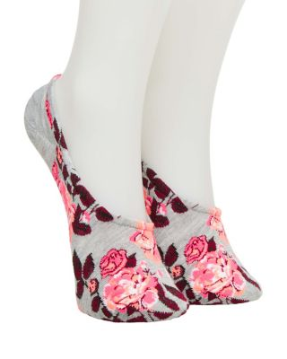 FOREVER FLORAL FOOTIE 5 PACK MULTI