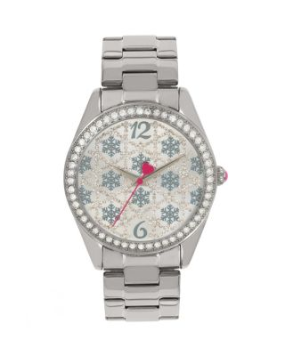 FROSTED DAYS SILVER WATCH SILVER