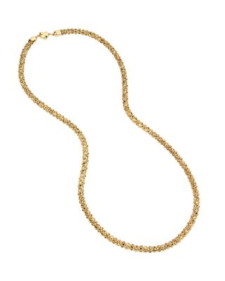 GARDEN OF EXCESS LIGHTWEIGHT LONG NECKLACE YELLOW