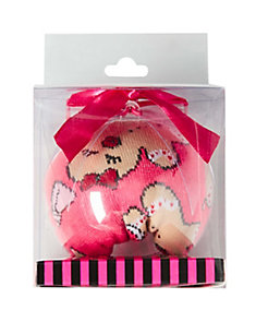 GINGERBREAD CREW SOCK ORNAMENT GIFT BOX
