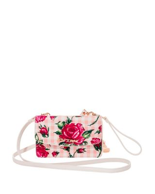 GINGHAM STYLE 2 IN 1 CROSSBODY PINK