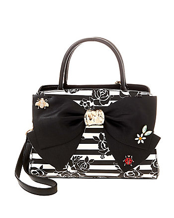 GLAM GARDEN BOW SATCHEL