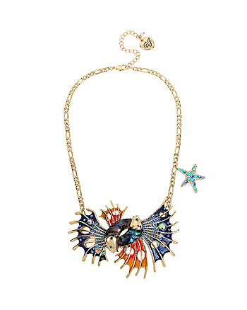GLITTER REEF FISH NECKLACE