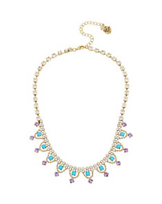 GRANNY CHIC CRYSTAL NECKLACE