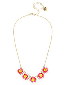 GRANNY CHIC FLOWER NECKLACE
