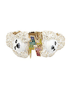 GRANNY CHIC POODLE BANGLE