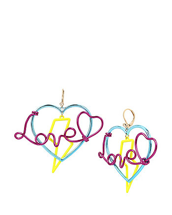 HARLEM SHUFFLE LOVE EARRINGS