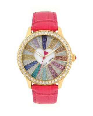 Heartburst Pink Watch Pink Multi