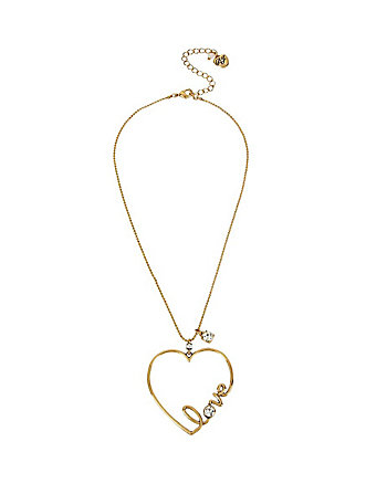 HEARTS AND ARROWS LOVE PENDANT
