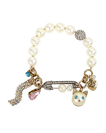 HEAVEN ON EARTH KITTY CHARM BRACELET