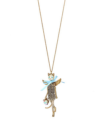 HEAVEN ON EARTH KITTY LONG PENDANT