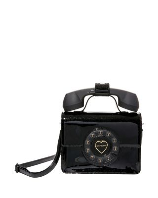 HELLO GOODBYE PHONE BAG BLACK