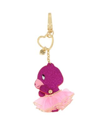 HOLIDAY 2018 MOVING PINK BEAR KEYCHAIN PINK