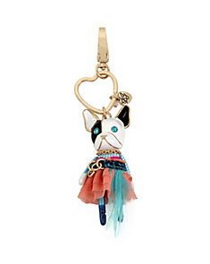 HOLIDAY GIVING DOGGIE KEYCHAIN