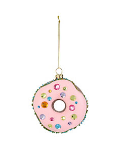 HOLIDAY GIVING DONUT ORNAMENT