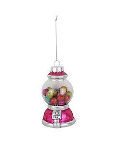 HOLIDAY GIVING GUMBALL ORNAMENT