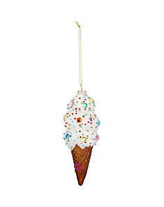HOLIDAY GIVING ICE CREAM ORNAMENT