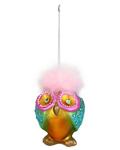 HOLIDAY GIVING OWL ORNAMENT