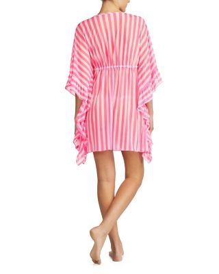 HONEYMOON PARADISE TUNIC PINK/WHITE