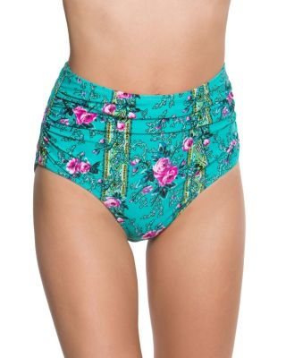 IN BLOOM HIGH WAIST BOTTOM MULTI
