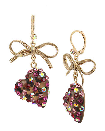 IN LOVE HEART DROP EARRINGS