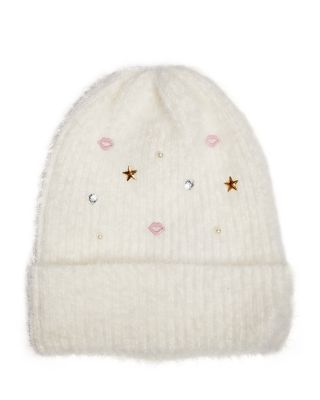 KISSES AND STARS CUFF HAT