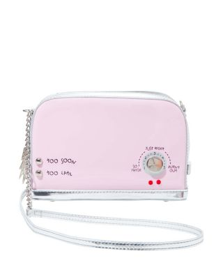 Image of KITSCH A TOAST TO YOU CROSSBODY PINK