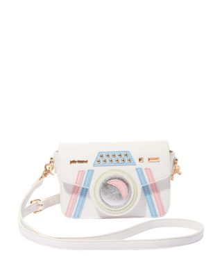 KITSCH GET MY GOOD SIDE CROSSBODY WHITE