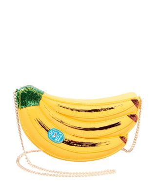 Image of KITSCH GOING BANANAS CROSSBODY YELLOW MULTI