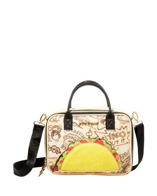 Image of KITSCH LETS TACO ABOUT IT LUNCH TOTE NATURAL