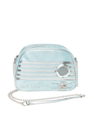 Image of KITSCH RADIO WAVES CROSSBODY BLUE