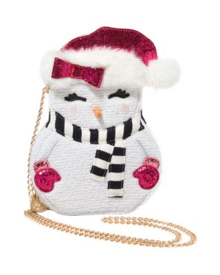 KITSCH SNOW GIRL CROSSBODY WHITE
