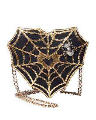 Image of KITSCH WEBMASTER CROSSBODY BLACK/GOLD