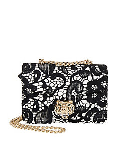 LADY LACE FLAP SHOULDER BAG