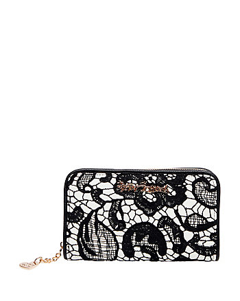 LADY LACE ZIP AROUND WALLET