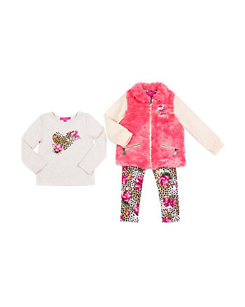 LAZY SATURDAY TODDLER 3 PIECE JACKET SET